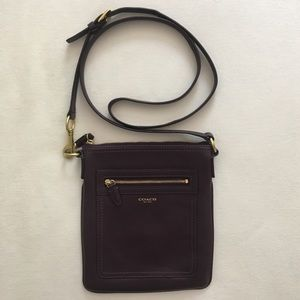 Plum Coach Crossbody purse New Without Tags
